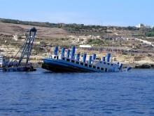 Scuttling of MV Karwela at Xatt l-Ahmar