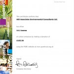Carbon Offset Certificate 2009