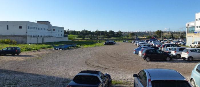 Existing car park